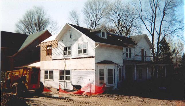 Gilda's Club Construction